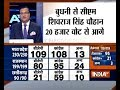 Shivraj Singh leads by 20,000 votes in MP, Raman Singh by 150 votes in Chattisgarh