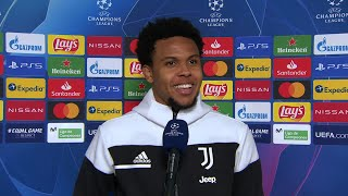Weston McKennie reflects on a goalscoring and MOTM display at the Camp Nou against Barcelona