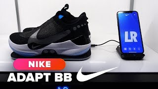 Nike Adapt BB self-lacing sneaker hands-on
