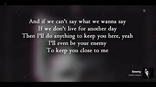 Sandro Cavazza | Enemy | Lyrics