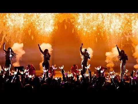 2NE1 - 'CRUSH' LIVE PERFORMANCE