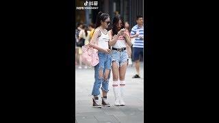 Street style cực chất của giới trẻ Trung Quốc ( Phần 5 ) 😄 Tik Tok China