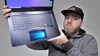 The Amazing Dual Screen Zenbook Pro