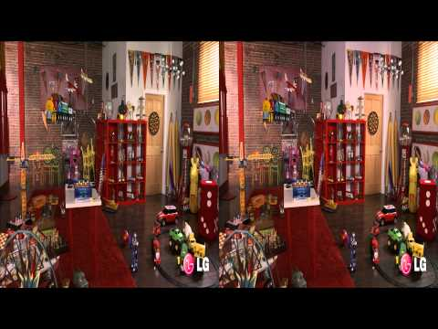 LG 3D Demo 07 - Beyond Reality - 1080P Side by Side