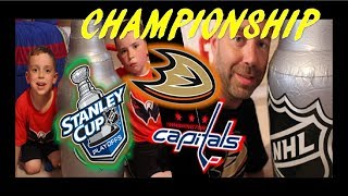 NHL PLAYOFFS - QUINN CUP FINAL 2017 - CAPITALS / DUCKS - QUINNBOYSTV