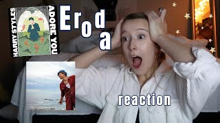 harry styles adore you (song & video) REACTION | Traveling to Eroda