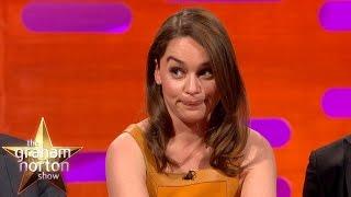 Emilia Clarke Talks About Game of Thrones Deaths - The Graham Norton Show