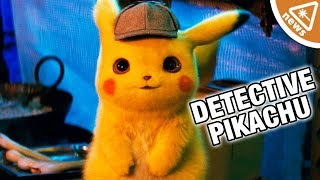 All the Detective Pikachu Easter Eggs, Pokemon, & More in the Trailer! (Nerdist News w/ Amy Vorpahl)