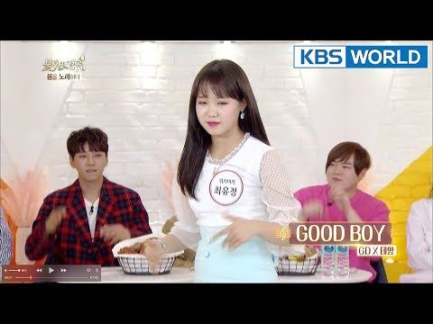 Yoojung can do boy band dance!!! [Immortal Songs 2 ENG/2018.04.28]