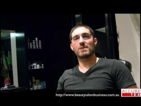 Rob at Manhore Hair Salon talks about quality salon towels