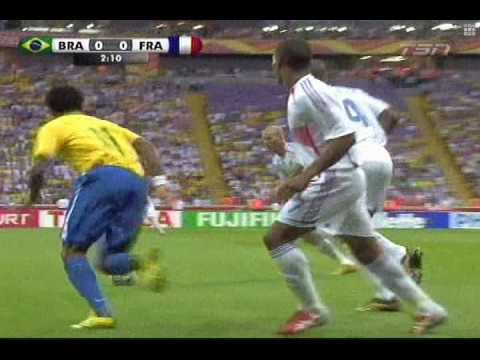 Zidane ★ All in the touch - Brazil (2006)
