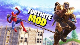 SPIDER-MAN vs THANOS En Fortnite😱
