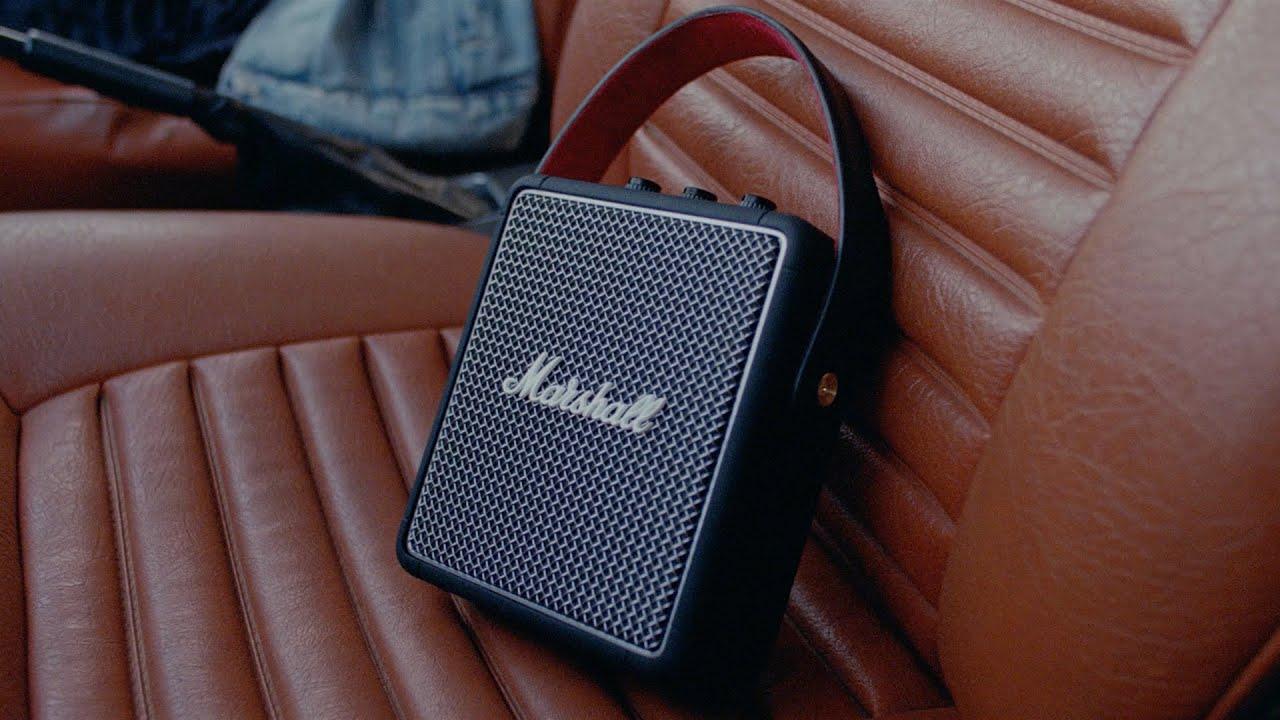 Marshall Stockwell II Portabel Bluetooth høyttaler Bærbar