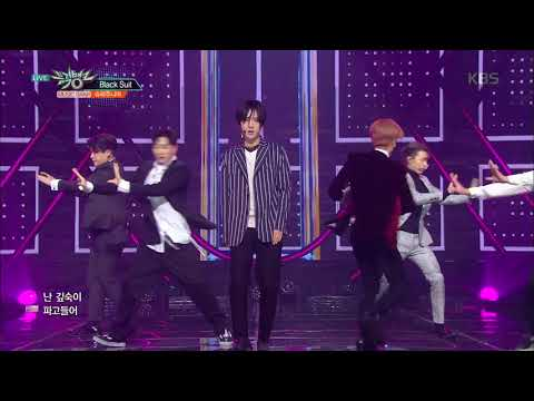 뮤직뱅크 Music Bank - Black Suit - 슈퍼주니어 (Black Suit - Super Junior).20171110