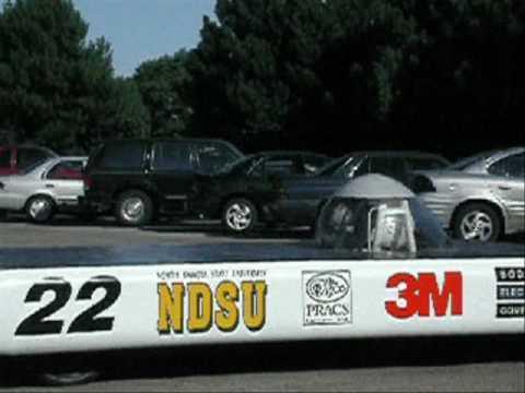 Bodine 14-inch e-TORQ Motor / NDSU's Solar Race Success