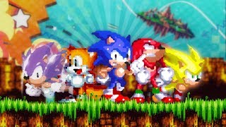 Sonic 3: A.I.R ✪ Full Game Playthrough (Definitive Way to Play)
