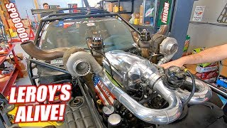 Leroy Version 2.5 COMES TO LIFE! His NEW Engine Setup Sounds AMAZING! (Ready For Big Boost)