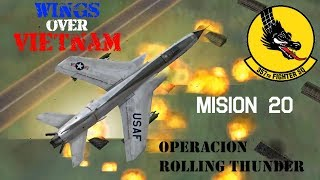 Wings over Vietnam / 357th TFS Licking Dragons / Misión 20