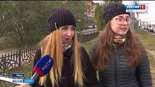 Состояние дороги на Ленинградской площади активно обсуждают омичи в социальных сетях