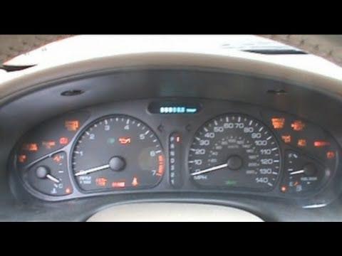 1999 Oldsmobile Alero Dash View Amp Cold Start Youtube