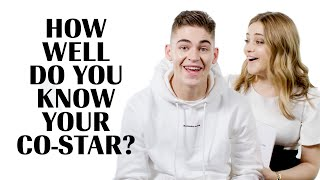 Josephine Langford and Hero Fiennes-Tiffin Play 'How Well Do You Know Your Co-Star?'   Marie Claire