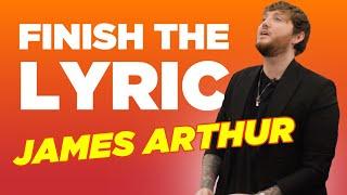 James Arthur Covers Ariana Grande, Lewis Capaldi & More | Finish The Lyric | Capital