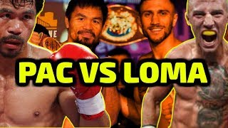 The REAL REASON why MANNY PACQUIAO BEATS LOMACHENKO!