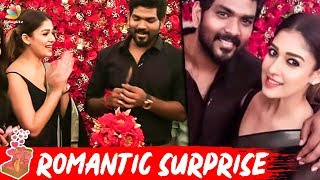 Nayanthara Shocks Throwing Birthday Bash For Beau Vignesh ..