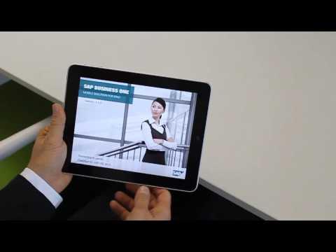 Simmex SAP Business One on the iPad