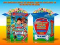 Invitaciones gratis, cajita de cereal moderna y divertida ¡Gratis! Paquete 2