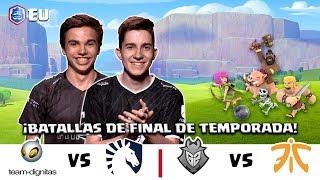 CRL Europa: Dignitas v. Team Liquid | G2 Esports v. Fnatic
