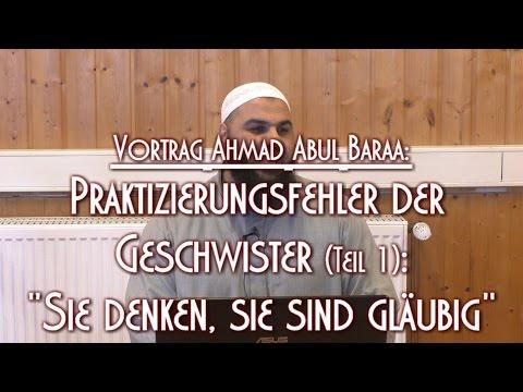 """PRAKTIZIERUNGSFEHLER DER GESCHWISTER (1): """"SIE DENKEN, SIE SIND GLÄUBIG"""""""