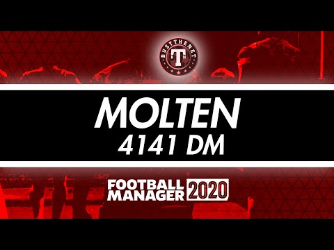 Molten 4141 Tactic - Everyones A Goal Scorer! Football Manager 2020