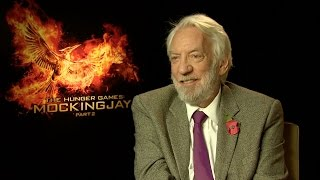 Donald Sutherland: President Snow is not a bad guy