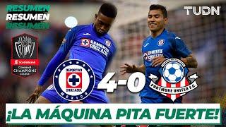 Resumen y Goles | Cruz Azul 4 - 0 Portmore | CONCACAF Champions League Octavos - Vuelta | TUDN
