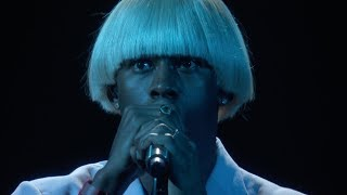 Tyler, The Creator - EARFQUAKE / NEW MAGIC WAND (Live at the 2020 GRAMMYs)