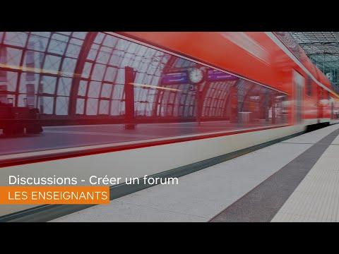 Discussions - Créer un forum - Les enseignants