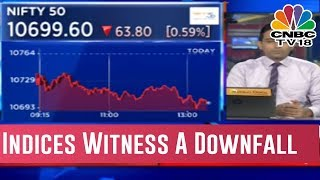 Ahead Of Two Hours Of The Stock Markets Closing Indices Fall | Midcap Radar