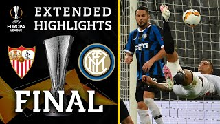 Sevilla vs. Inter Milan | Europa League Final highlights | UCL on CBS Sports
