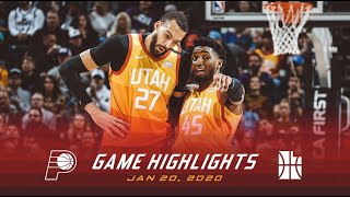 Highlights: Jazz 118 | Pacers 88