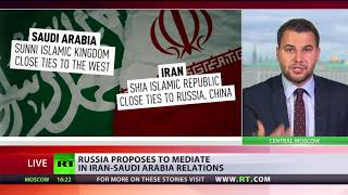 Reconciling Rivals: Russia offers to mediate in Iran-Saudi relations