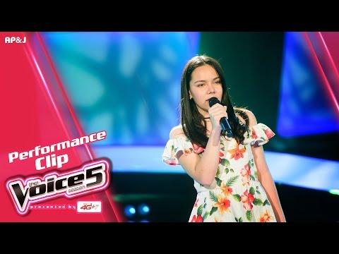 The Voice Thailand - ชีน่า อสมา - รักไม่ยอมเปลี่ยนแปลง - 9 Oct 2016