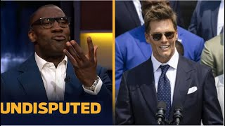 UNDISPUTED | Shannon reacts to Tom Brady cracks jokes during White House visit with team
