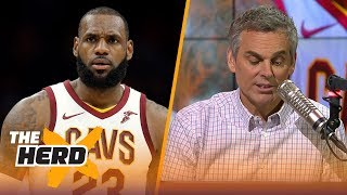 LeBron James to the Houston Rockets this summer? Colin thinks it could work | THE HERD