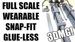 3D PRINTED ATTACK ON TITAN 3DMG ODM GEAR!