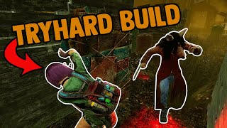 Abusing The Tryhard Build For 5 Gens - Dead by Daylight