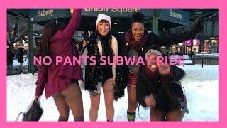 No Pants Subway Ride 2018 NYC - una giornata in mutande!