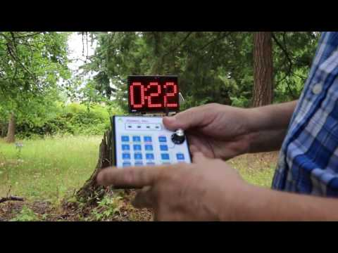RC Boat Race Starting Clock