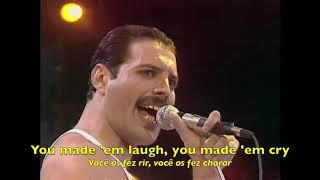 Queen - Bohemian Rhapsody - Radio Ga Ga - Live Aid (Tradução) - HQ