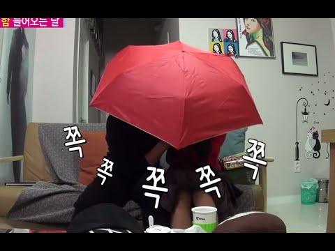 [ENG SUB] 우리 결혼했어요 - 오붓한 재림의 중국 기념품 개봉~ 1인용 우산 속에서 뭐하는 중? 20141115